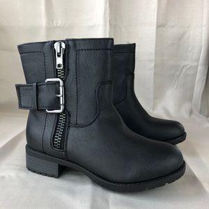 Women's Heel Ankle Boots Black Size 6.5